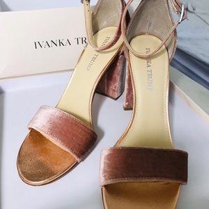 Leather sandal Ivanka trump